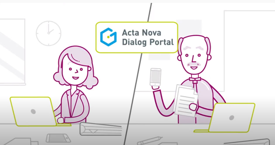 Acta Nova Dialog Portal Video