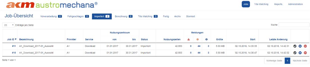 Automatic Title Matching