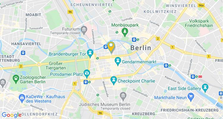 RUBICON Berlin GoogleMaps