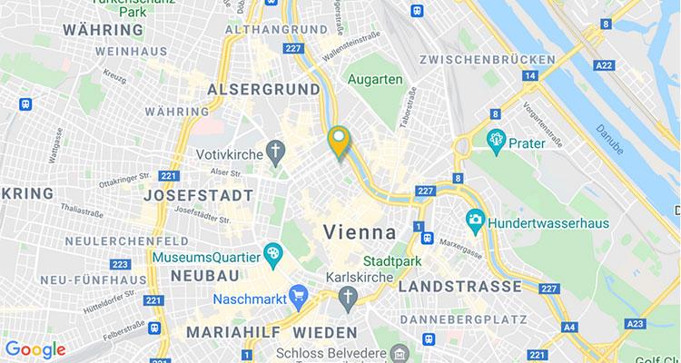 RUBICON Vienna GoogleMaps