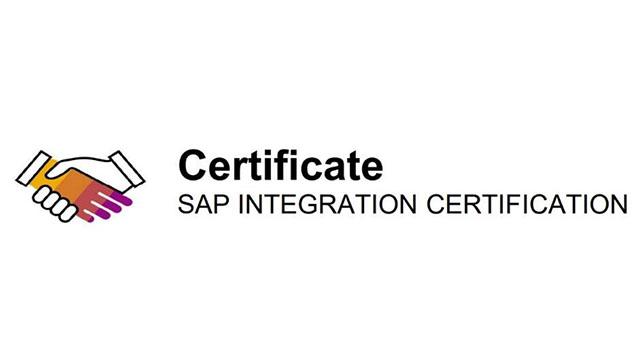 SAP Integration Certifcation